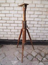 Vintag Wooden tripod for the camera FKD