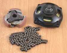 Gear Box Drum Clutch Pad Chain kit 43cc 47cc 49cc Pocket Dirt Bike Mini Quad