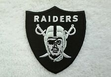 """Oakland Raiders 3"""" Embroidered Iron/Sew On Patch"""