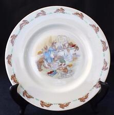 "Vintage ROYAL DOULTON BUNNYKINS China BATHTIME Pattern 8"" Salad Plate"