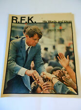 """R.F.K"" News Paper 1968 Chicago Tribune!"