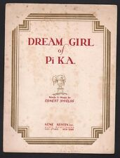 Dream Girl of Pi Kappa Alpha 1929