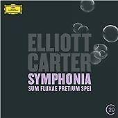 """Elliott Carter - Symphonia """"Sum fluxae pretium spei""""; Clarinet Concerto (2013)"""