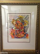 Collection Domaine Picasso Lithograph Limited Edition Man With A Straw Hat