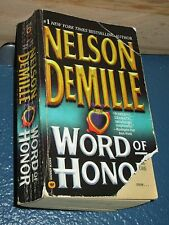 Word of Honor by Nelson DeMille *FREE SHIPPING*  0446612480