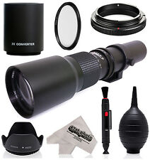 500mm/1000mm Telephoto Lens for Pentax K-1 K-S2 K-S1 K-500 K-50 K-30 K-7 K-5 K-3