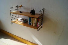 STRING WALL UNIT Nisse Strinning 60s 60er Regal System mid century shelf 4