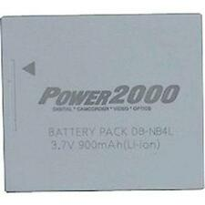 2 Pack Power2000 NB-4L Battery for Canon ELPH 100HS 300HS 310HS 330HS
