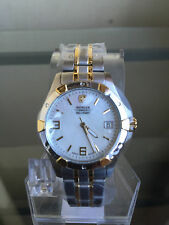 NIB WENGER Swiss Military Elite Two Tone Ladies Swiss Watch SRP $300 etm