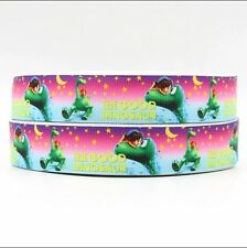"BTY 7/8"" Disney The Good Dinosaur Grosgrain Ribbon Scrapbook Hair Bows Lisa"