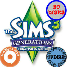The Sims 3 Generations (PC&Mac, 2011) Origin Download Region Free