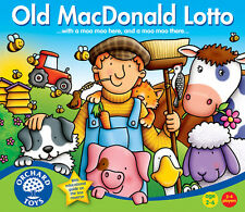 Orchard Toys 071 Old Macdonald Lotto Kids Childrens British made Game 2 - 6 Yrs