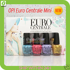 Limited! OPI EURO Centrale Central Mini 4pk Pack Kit Set Collection Spring 2013