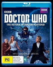 Doctor Who: The Return of Doctor Mysterio NEW B Region Blu Ray