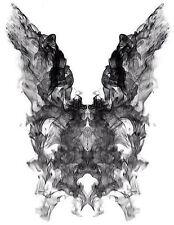 Enmarcado impresión-Psicología Donnie Darko borrón de tinta (foto película Medical Póster)