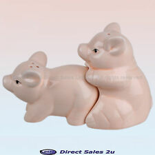 Bonking Pigs Salt & Pepper Pots Ceramic Naughty Xmas Christmas Secret Santa Gift