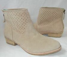DV by Dolce Vita Women's Maeve Suede Rear Zip Ankle Boots size 6