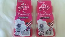 12 Glade Be Ravishing Wax Melts Magnolia & Rose Essence Spring Collection 2 pack