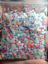 'Neon Bubbles' Glitter Mix Plus Free Gift! *1tsp* For Acrylic/Gel