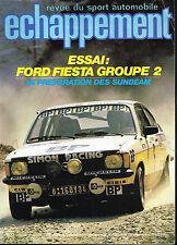 revue automobile: Echappement: N°130 aout 1979