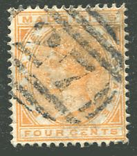"""MAURITIUS: (12561) Beau Bassin """"27"""" numeral cancel"""