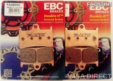 Yamaha YZF R1 (2015 to 2016) EBC FRONT Sintered Brake Pads (FA380HH) (2 Sets)