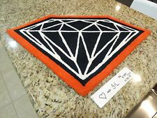 NEW Diamond Supply Co Brilliant 2 Tone Rug RED + SUPER RARE + SOLD OUT + SUPREME