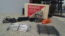 VINTAGE MARX STEAM TYPE ELECTRIC TRAIN SET W/ ORIG. BOX - #4950