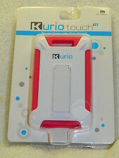 Kurio Touch 4S Tough Case with Kick Stand - New in Package - Pink