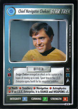 STAR TREK CCG MIRROR Mirror RARE CARD Chief Navigator CHEKOV