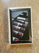 Vintage apple III computer playing cards 1980s rainbow logo RARE os7 card deck