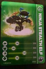 Ninja Stealth Elf Skylanders Swap Force Card & Code Sticker Only!