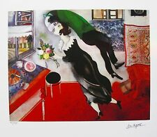 MARC CHAGALL BIRTHDAY Facsimile Signed Limited Edition Art Giclee