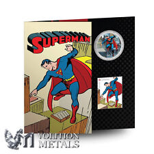2013 Canada 75th Anniversary of Superman Lenticular Coin and Stamp Set