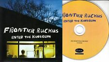 FRONTIER RUCKUS Enter The Kingdom 2017 UK 11-trk promo CD