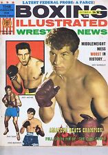 JOEY GIARDELLO / JOEY ARCHER / DICK TIGER Boxing Illustrated Oct 1965