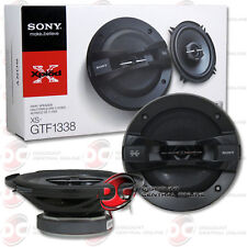 "BRAND NEW SONY 5.25"" 3-WAY CAR AUDIO COAXIAL SPEAKERS (PAIR) 5-1/4"""