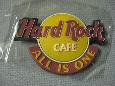 "NEW Hard Rock Cafe 3"" Logo Rubber Refrigerator Fridge Magnet All Is One"