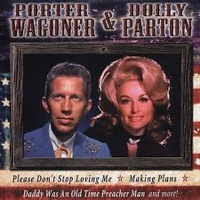 "PORTER WAGONER & DOLLY PARTON, CD ""ALL AMERICAN COUNTRY"" NEW SEALED"