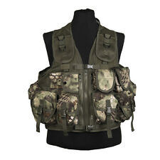9 Pouch Tactical Assault Combat Airsoft Military Vest Krytek Mandra Mandrake NEW