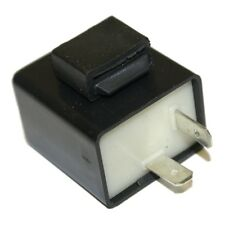 2 Pins Solid State Turn Signal Flasher Relay for LED Turn Indicator Light Bulbs