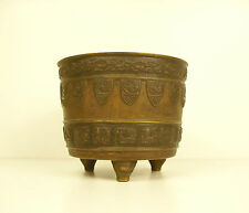 Pot tripode en bronze Chine vers 1900 Chna circa 1900 480 g H :8,5 cm