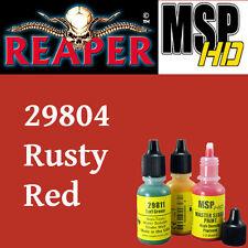 RUSTY RED 29804 - MSP HD 15ml 1/2oz paint pot peinture figurine REAPER MINIATURE