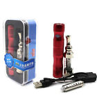 X6 Variable Voltage Battery + Iclear 30s Vaporizer dual coil Atomizer Kit Red
