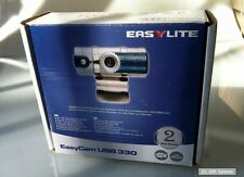 TYPHOON EASYCAM 330 webcam, CAM, 640x480, ideale per anziani PC e Notebook Nuovo