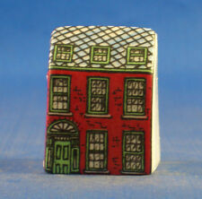 Birchcroft Miniature House Shaped Thimble -- Red House