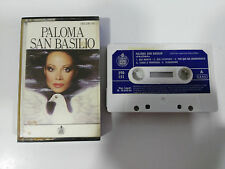 PALOMA SAN BASILIO CINTA TAPE CASSETTE HISPAVOX SPANISH EDIT PAPER LABELS 1984