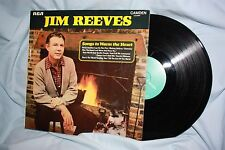 """Jim Reeves  """" Songs to Warm the Heart """"  Album / l.p."""