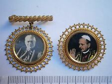 RELIGIOUS BADGE MEDAL LOT 2,Catholic Church POPE VATICAN priest