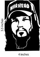 2 DIMEBAG DARRELL PANTERA  Stickers Cut Vinyl Decal